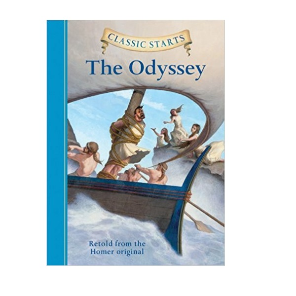 RL 4.9 : Classic Starts: The Odyssey (Hardcover)