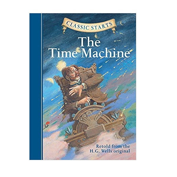 RL 4.9 : Classic Starts: The Time Machine (Hardcover)