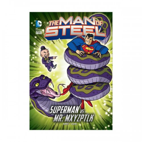 RL 4.9 : DC Super Heroes : The Man of Steel : Mxy's Magical Mayhem (Paperback)