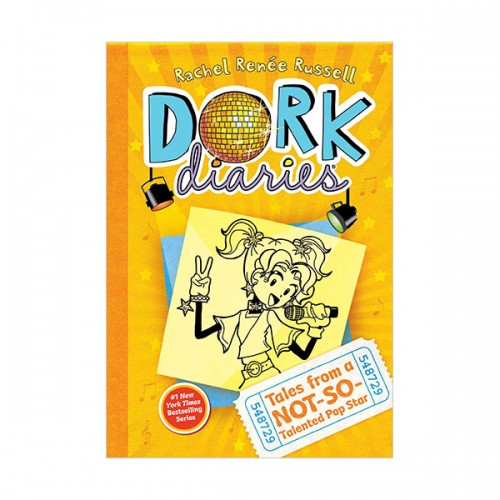 Dork Diaries #03 : Tales from a Not-So-Talented Pop Star (Hardcover)