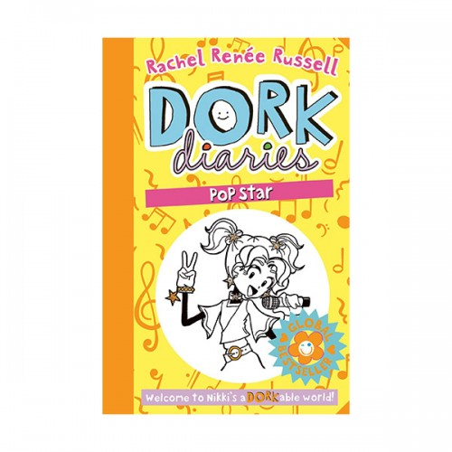RL 4.9 : Dork Diaries #3 : Tales from a Not-So-Talented Pop Star (Paperback, 영국판)