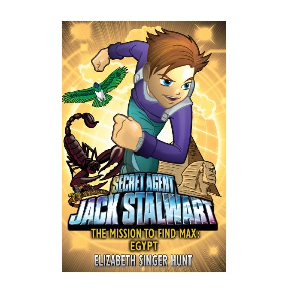 RL 4.9 : Jack Stalwart #14: The Mission to find Max: Egypt (Paperback,영국판)