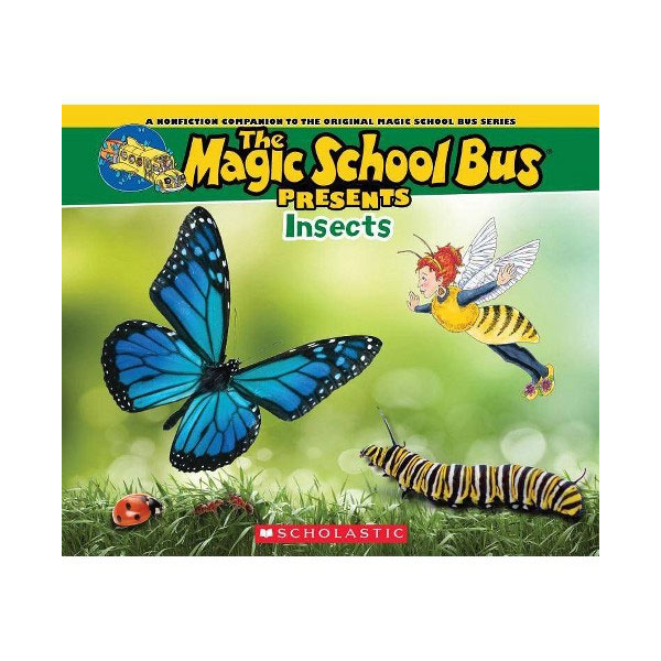 Magic School Bus Presents : Insects (Paperback)