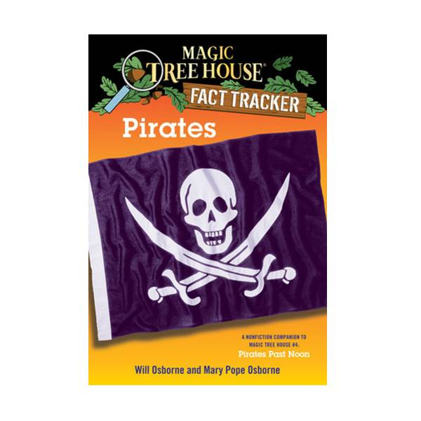 RL 4.9 : Magic Tree House Fact Tracker #04 : Pirates (Paperback)