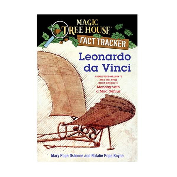 RL 4.9 : Magic Tree House Fact Tracker #19 : Leonardo da Vinci (Paperback)