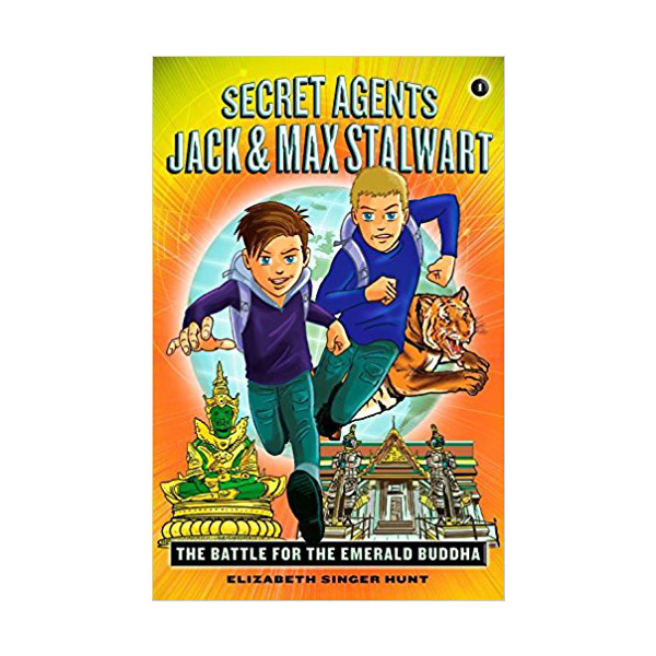 RL 4.9 : Secret Agents Jack and Max Stalwart #1: The Battle for the Emerald Buddha (Paperback)