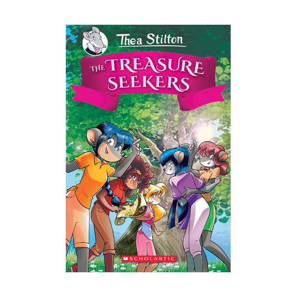 RL 4.9 : Thea Stilton and the Treasure Seekers #1 : The Treasure Seekers (Hardcover)