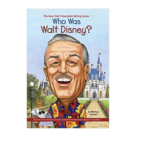 RL 4.9 : Who Was Walt Disney? (Paperback)