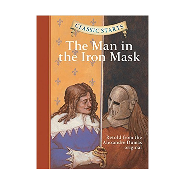 RL 5.0 : Classic Starts : The Man in the Iron Mask (Hardcover)
