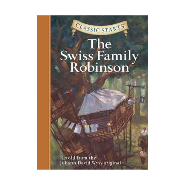 RL 5.0 : Classic Starts : The Swiss Family Robinson (Hardcover)