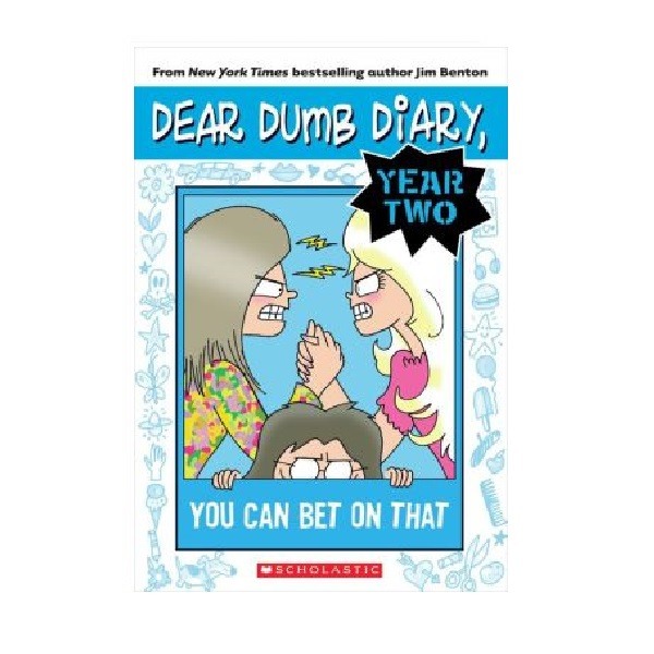 RL 5.0 : Dear Dumb Diary Year Two #5 : You Can Bet on That (Paperback)
