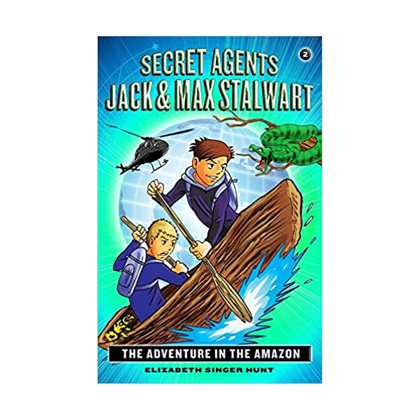 RL 5.0 : Secret Agents Jack and Max Stalwart #2 : The Adventure in the Amazon (paperback)