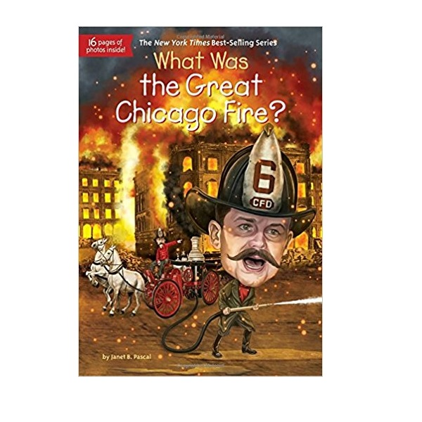 RL 5.0 : What Was the Great Chicago Fire? (Paperback)