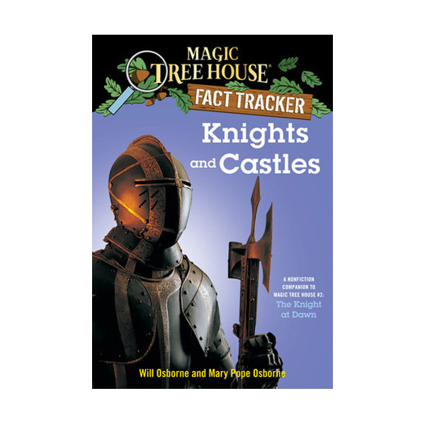 RL 5.1 : Magic Tree House Fact Tracker #02 : Knights and Castles (Paperback)