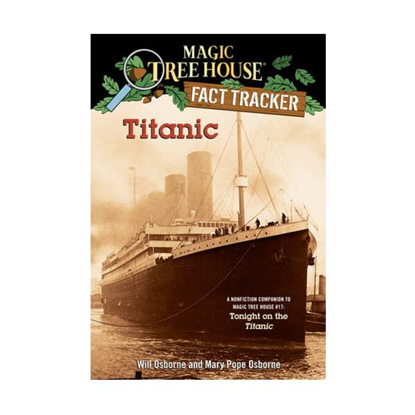 RL 5.1 : Magic Tree House Fact Tracker #07 : Titanic (Paperback)