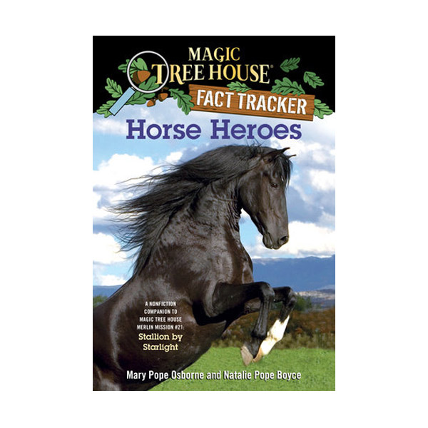 RL 5.1 : Magic Tree House Fact Tracker #27 : Horse Heroes (Paperback)