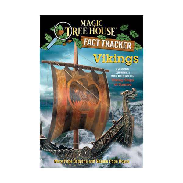 RL 5.1 : Magic Tree House Fact Tracker #33 : Vikings (Paperback)