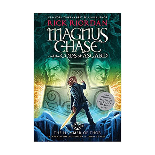 RL 5.1 : Magnus Chase and the Gods of Asgard Series #2 : The Hammer of Thor (Paperback)