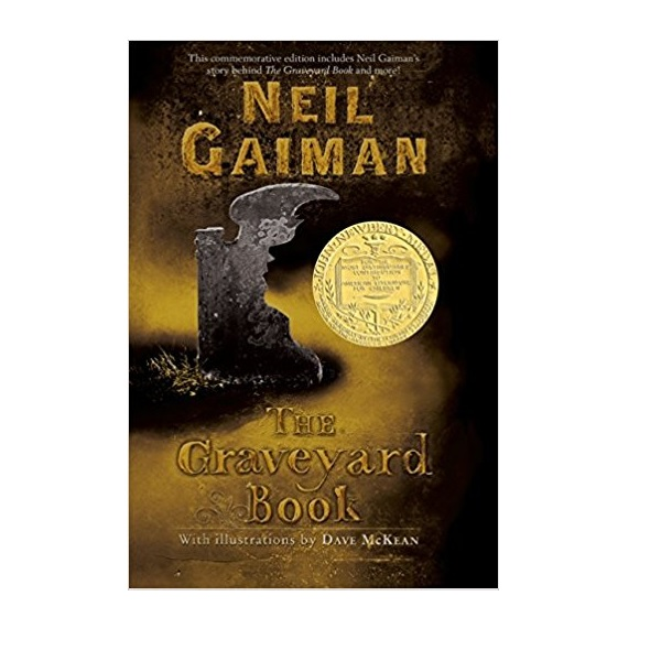 [2009 뉴베리] The Graveyard Book : Commemorative Edition (Paperback)