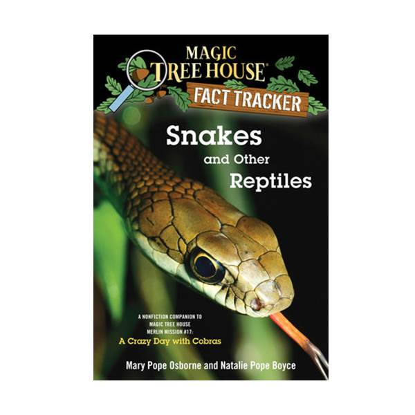 RL 5.2 : Magic Tree House Fact Tracker #23 : Snakes and Other Reptiles (Paperback)