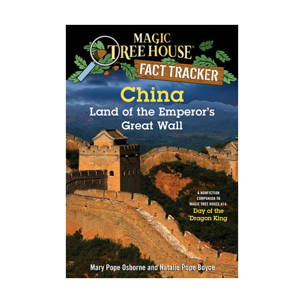 RL 5.2 : Magic Tree House Fact Tracker #31 : China Land of the Emperor's Great Wall