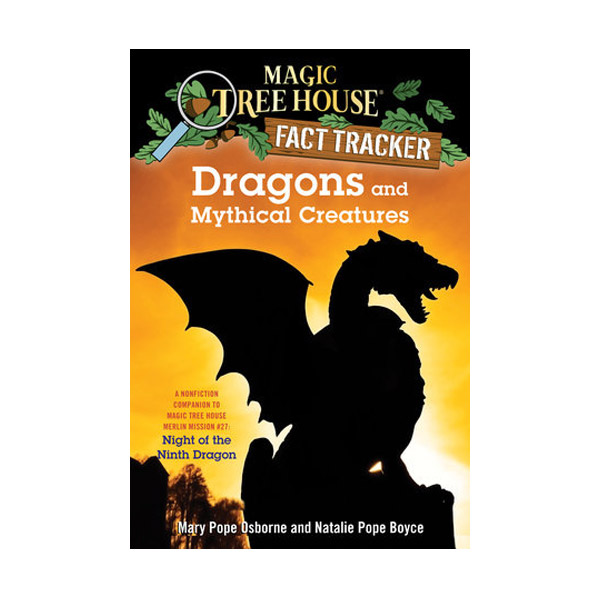 RL 5.2 : Magic Tree House Fact Tracker #35 : Dragons and Mythical Creatures (Paperback)