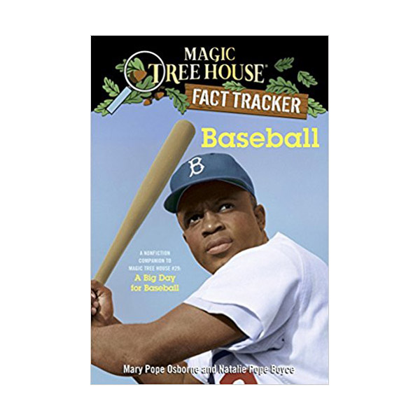 RL 5.2 : Magic Tree House Fact Tracker #37 : Baseball (Paperback)