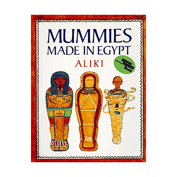 RL 5.2 : Reading Rainbow Books : Mummies Made in Egypt (Paperback)