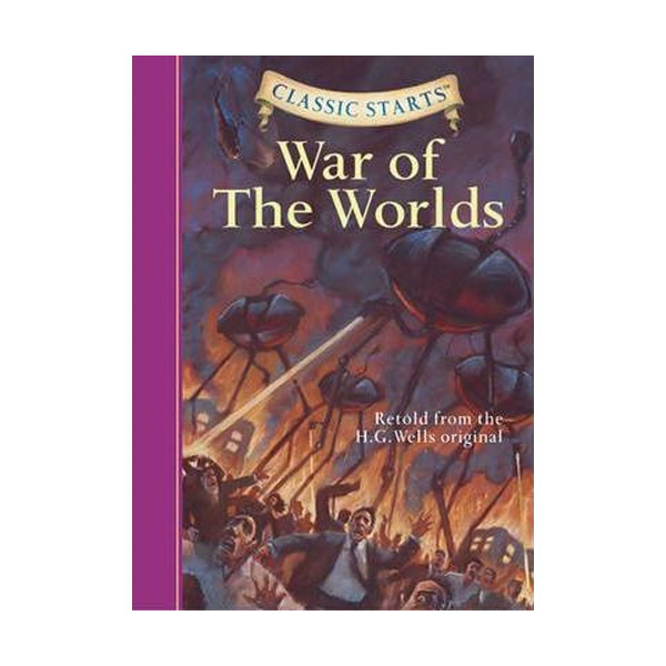 RL 5.3 : Classic Starts : The War of the Worlds (Hardcover)