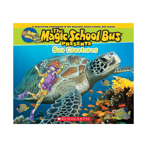 Magic School Bus Presents : Sea Creatures (Paperback)