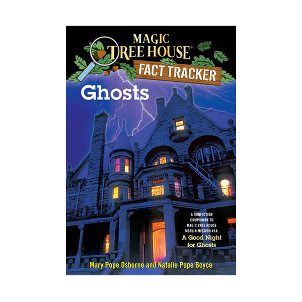 RL 5.3 : Magic Tree House Fact Tracker #20 : Ghosts (Paperback)