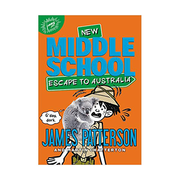 RL 5.3 : Middle School #9 : Escape to Australia (Paperback)