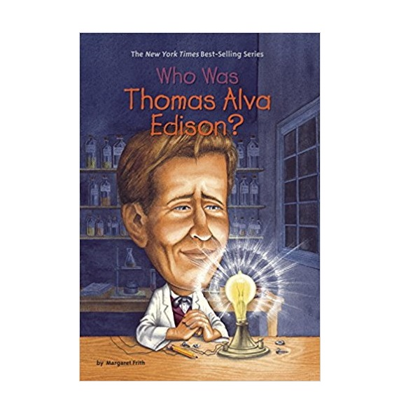 RL 5.3 : Who Was Thomas Alva Edison? (Paperback)