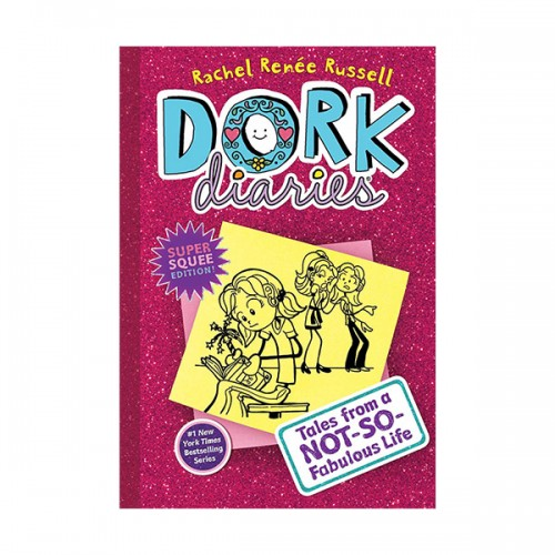 Dork Diaries #01 : Tales from a Not-so-fabulous Life (Hardcover)