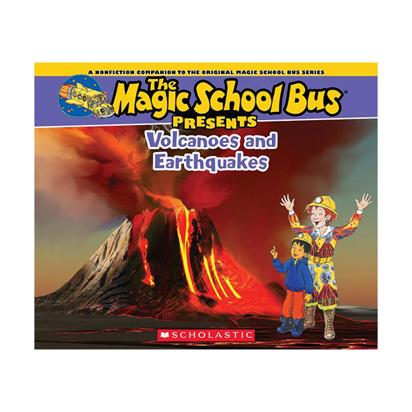 RL 5.4 : Magic School Bus Presents : Volcanoes & Earthquakes (Paperback)