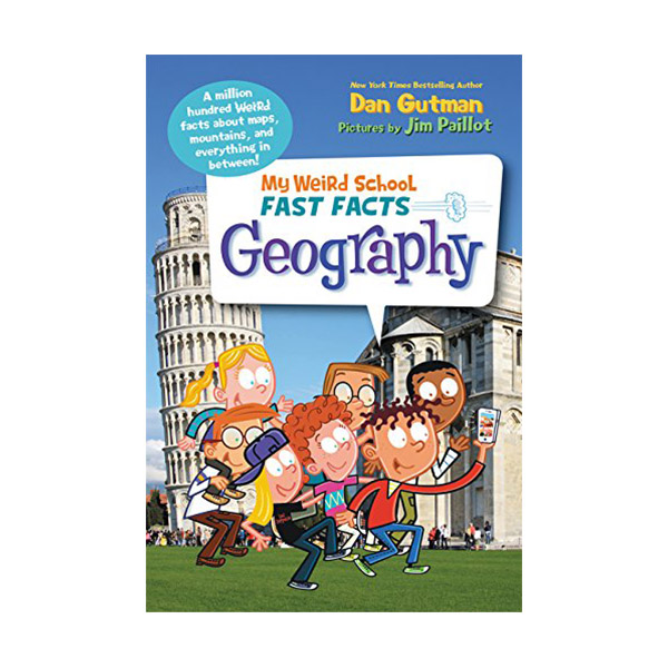 RL 5.4 : My Weird School Fast Facts : Geography (Paperback)
