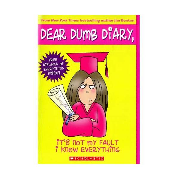 RL 5.5 : Dear Dumb Diary Series #8 : It's Not My Fault I Know Everything (Paperback)