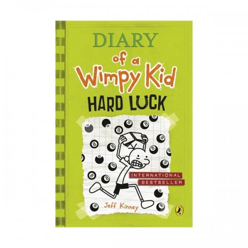 RL 5.5 : Diary of a Wimpy Kid #8 : Hard Luck (Paperback)