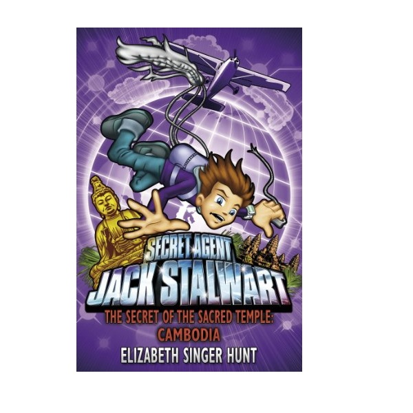 RL 5.5 : Jack Stalwart #5: The Secret of the Sacred Temple: Cambodia (Paperback,영국판)