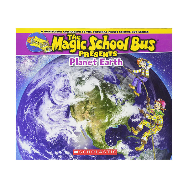 ★지구의날★ Magic School Bus Presents : Planet Earth (Paperback)