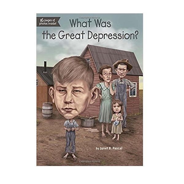 RL 5.5 : What Was the Great Depression? (Paperback)