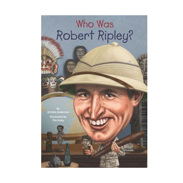 RL 5.5 : Who Was Robert Ripley? (Paperback)