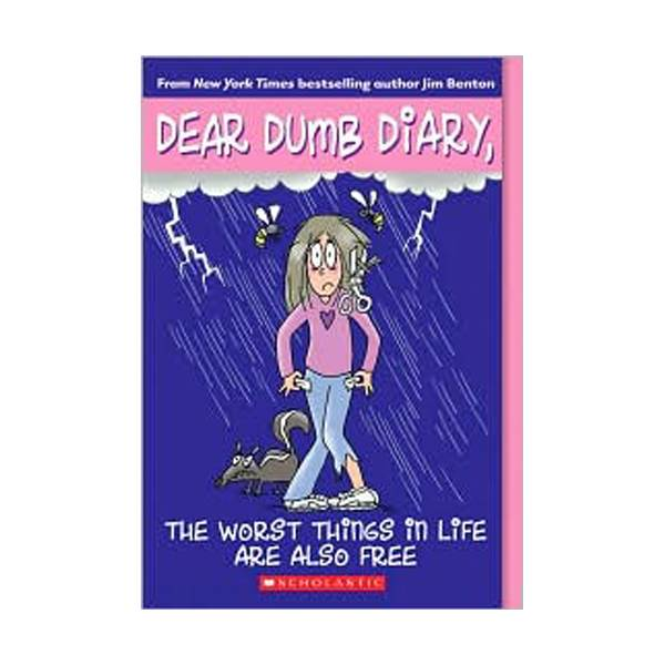 RL 5.6 : Dear Dumb Diary Series #10 : The Worst Things In Life Are Also Free (Paperback)