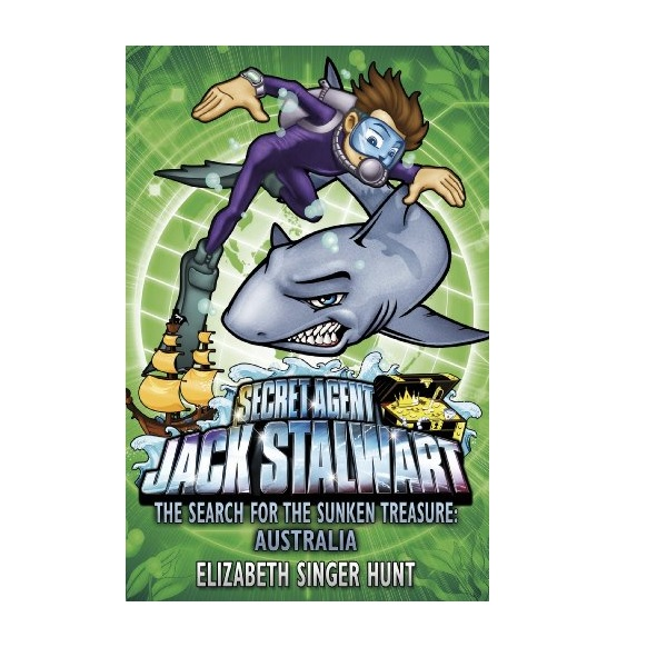 RL 5.6 : Jack Stalwart #02: The Search for the Sunken Treasure: Australia (Paperback,영국판)