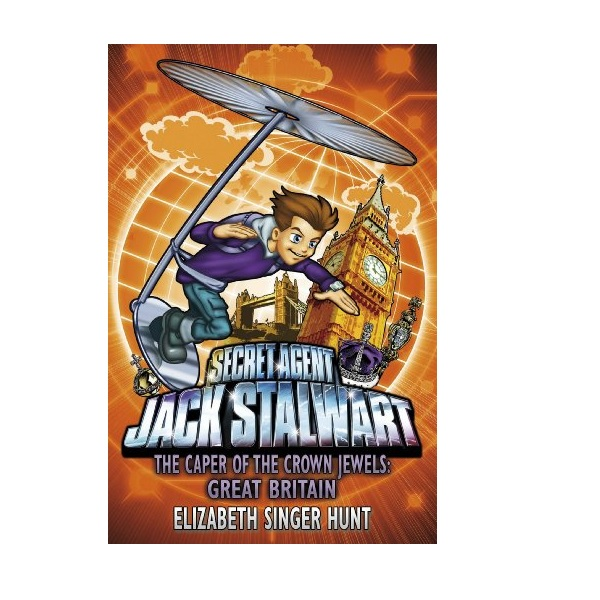 RL 5.6 : Jack Stalwart #04: The Caper of the Crown Jewels: Great Britain (Paperback,영국판)