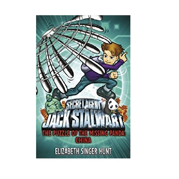 RL 5.6 : Jack Stalwart #07: The Puzzle of the Missing Panda: CHINA - Secret Agent (Paperback,영국판)