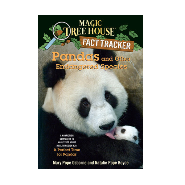 RL 5.6 : Magic Tree House Fact Tracker #26: Pandas and Other Endangered Species (Paperback)