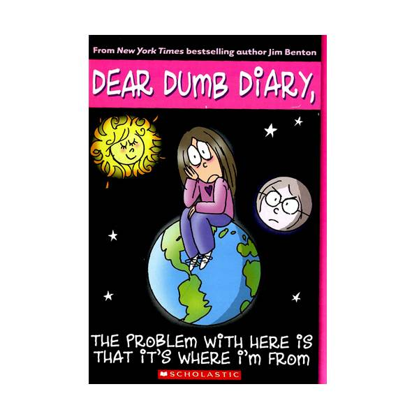 RL 5.7 : Dear Dumb Diary Series #6 : Problem with Here Is That It's Where I'm From (Paprback)
