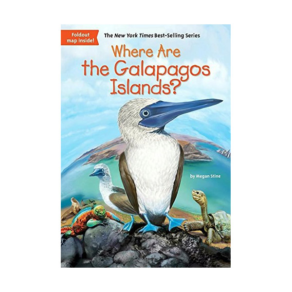 RL 5.8 : Where Are the Galapagos Islands? (Paperback)