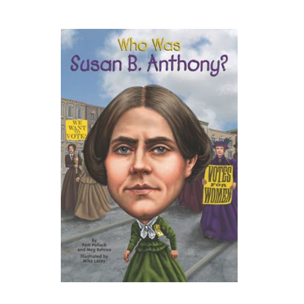 RL 5.8 : Who Was Susan B. Anthony? (Paperback)